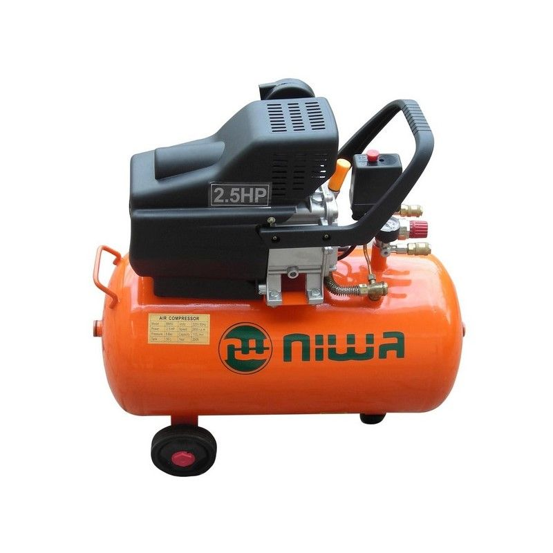 NIWA COMPRESOR 2.5 HP - MONOFASICO 50 LTS