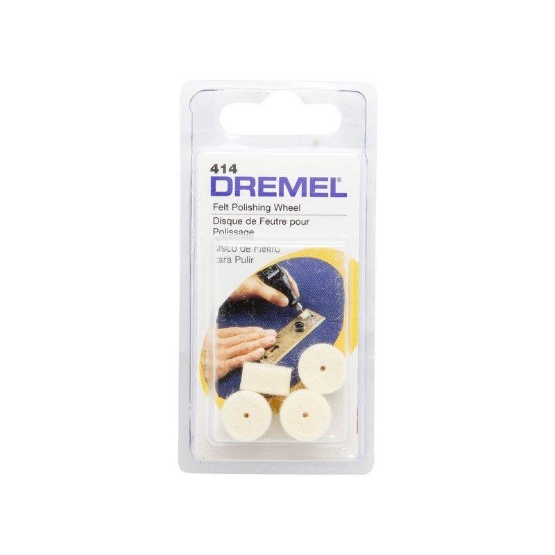 DREMEL 414 DISCO FIELTRO P/PULIR  12.7 MM