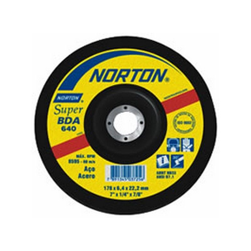 NORTON DISCO DE DESBASTE BDA 640 230 X 6.4 MM