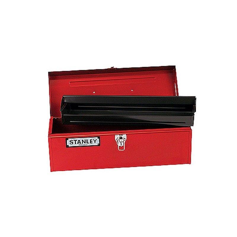 Stanley caja herramienta metalica roja 482 x 180 x 180 - Caja de herramientas stanley ...
