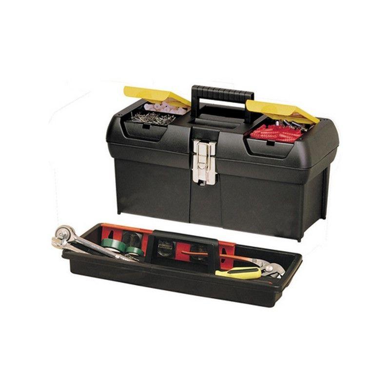 Stanley caja herramienta plastica 24 singlar - Caja herramientas stanley ...