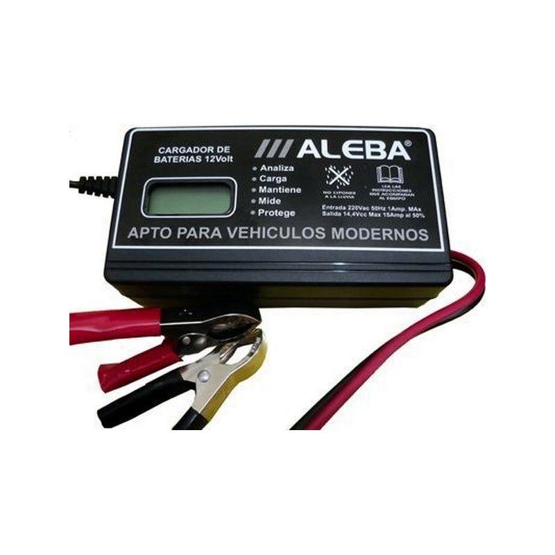 ALEBA CARGADOR ELECTRONICO-AUTOMATICO 15 AMP