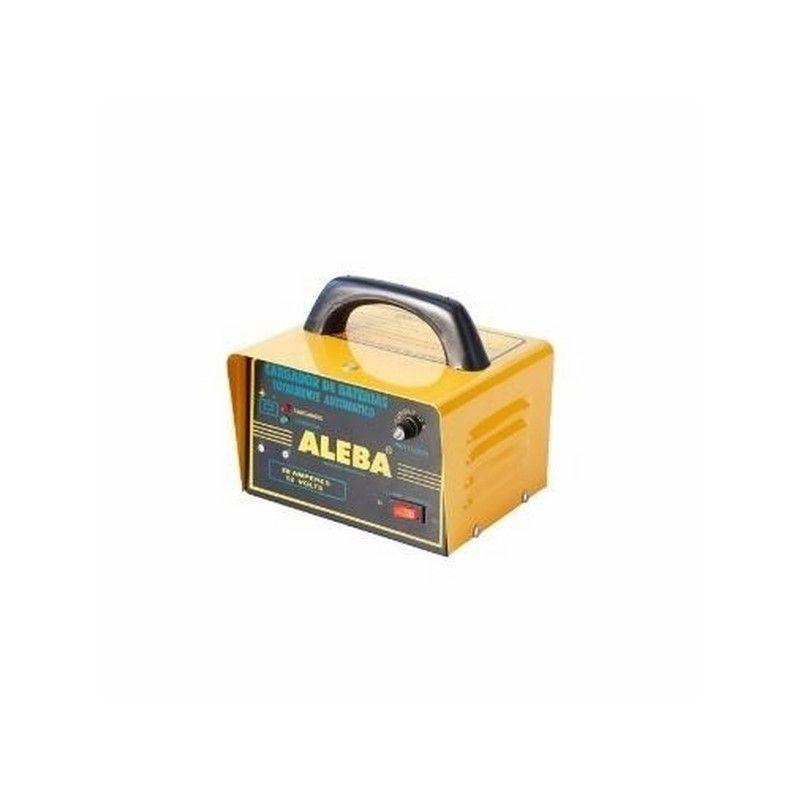 ALEBA CARGADOR AUTOMATICO - 12 V 20 AMP