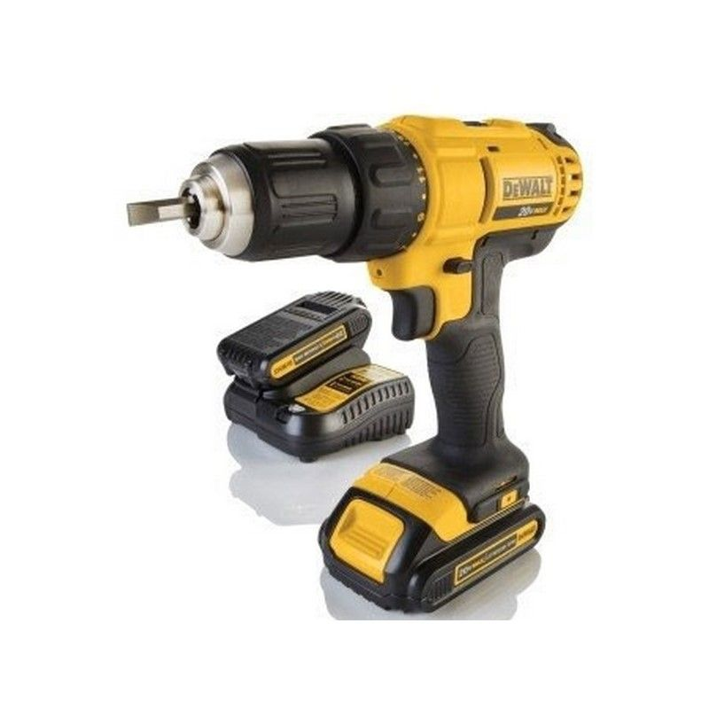 DEWALT TALADRO ATORNILLADOR C/PERCUTOR 20 V-13MM/ION-LITIO